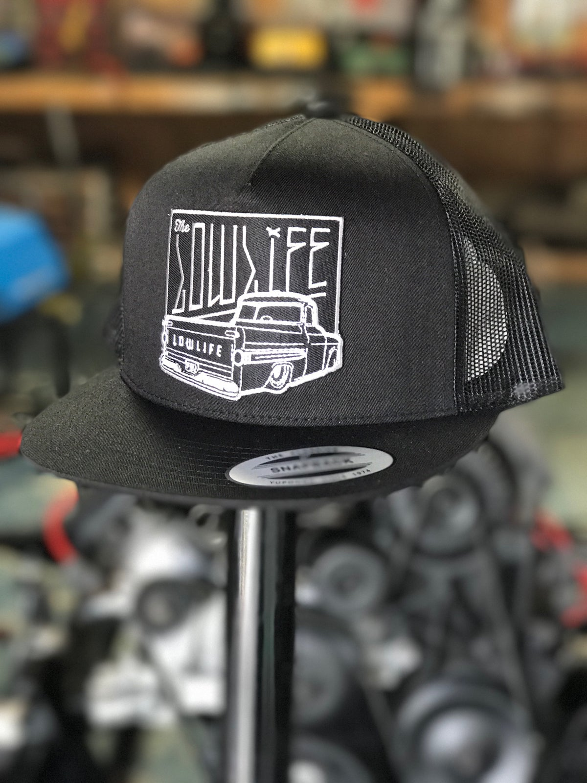 Image of The Lowlife Blackedout Fleetside Patch Hat