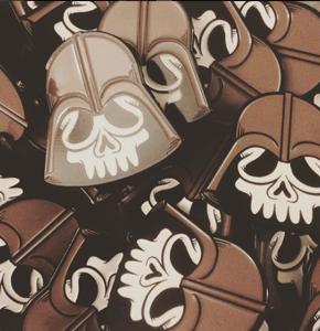 Image of Dead Vader - Enamel Pin