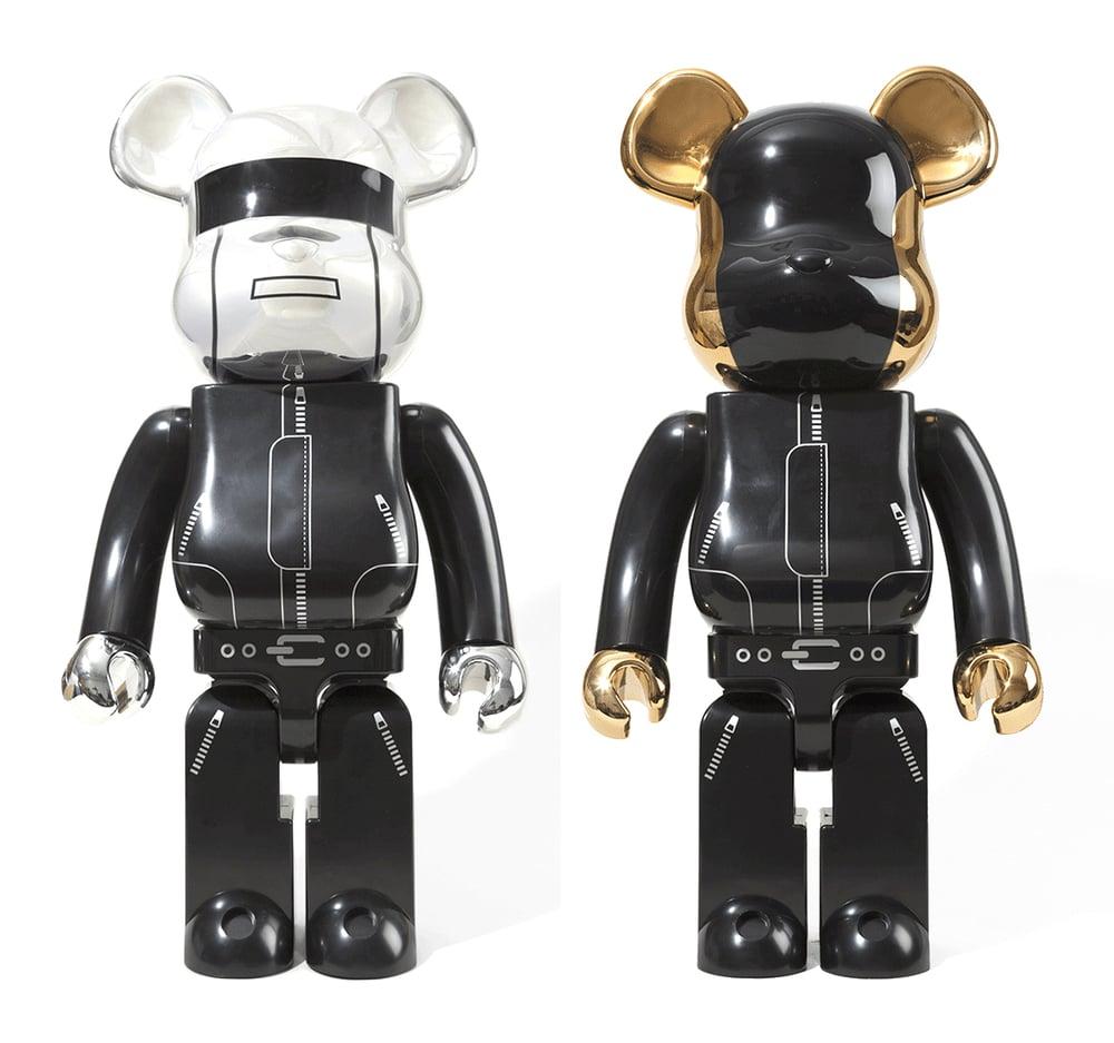 Image of 1000% Daft Punk Bearbrick, 2012 (Pair)