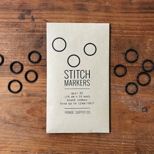Image of Black Stitch Markers