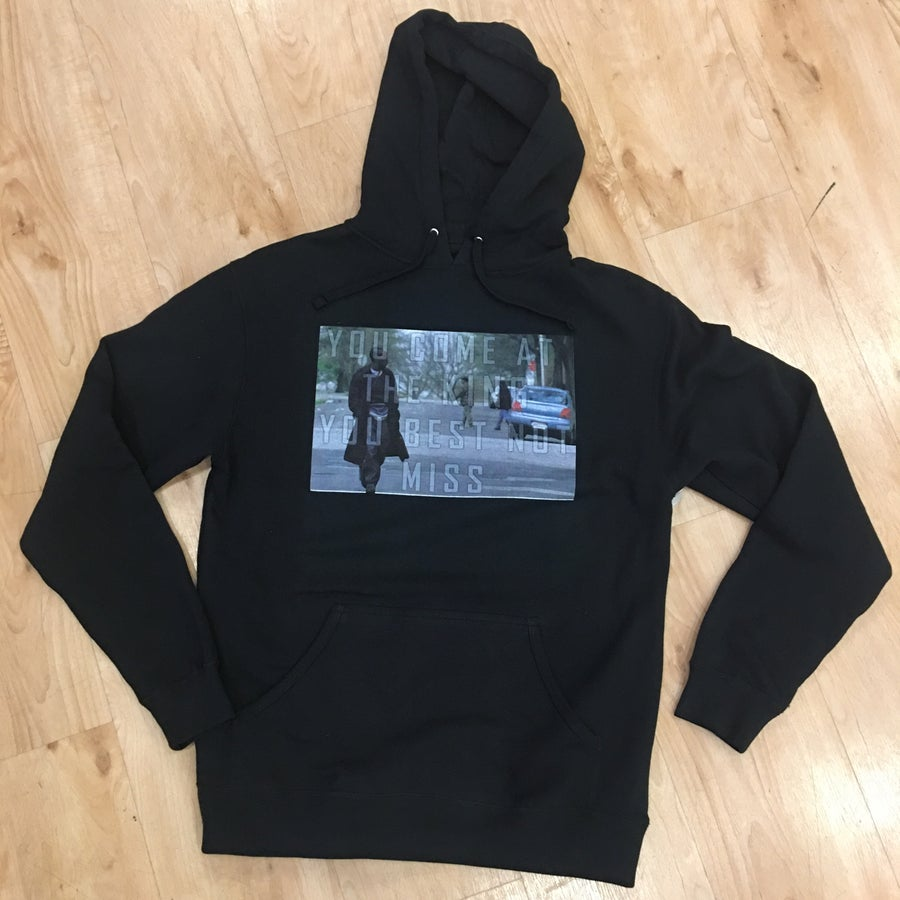 Image of Through the Wire collection - King hoodie