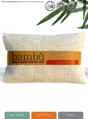 Image of Spa Set 3 bars totalling 3.5oz Bambú Charcoal Soap -Shipping Included!