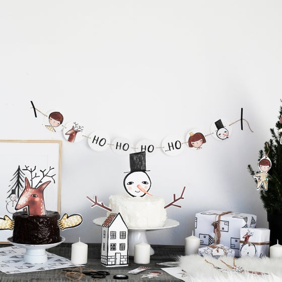 Image of CHRISTMAS PARTY PACK   PRINTABLE