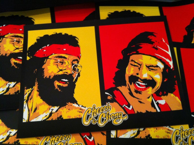 Image of Cheech & Chong official Merch and Tour Poster