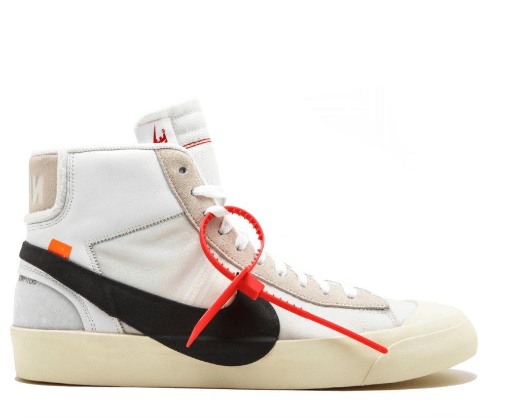 Image of NIKE X OFF WHITE BLAZER MID VIRGIL AA3832-100