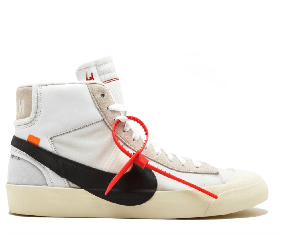 The London Sneaker Club — NIKE X OFF WHITE BLAZER MID VIRGIL AA3832-100 ffd13747d988