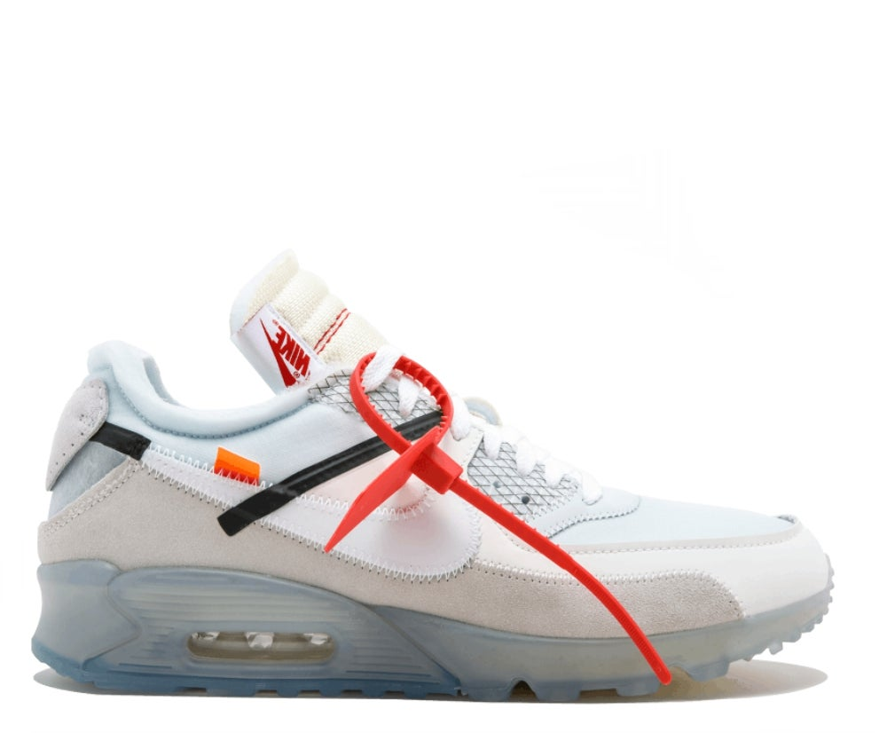 Image of NIKE X OFF WHITE AIR MAX 90 VIRGIL AA7293-100