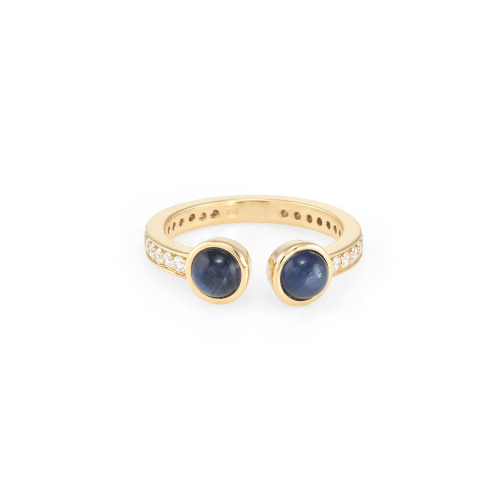 Image of Sapphire Monroe Ring