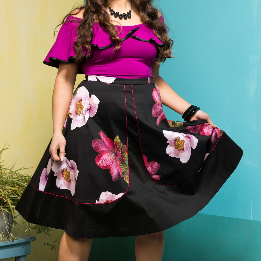 Image of THE TROPICANA SKIRT...