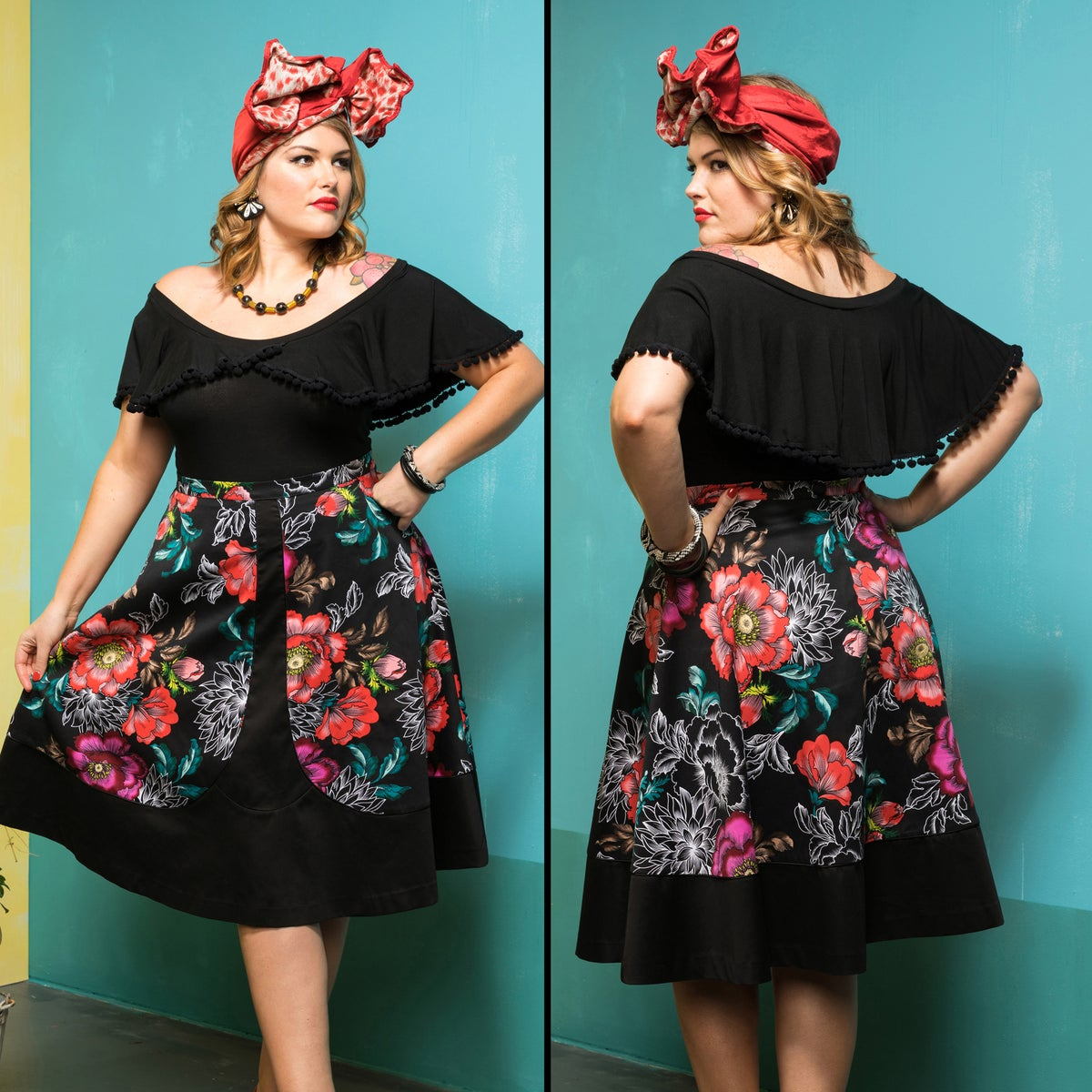 Image of THE TROPICANA SKIRT (other options available)