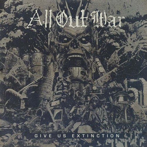 Image of All Out War - Give Us Extinction CD
