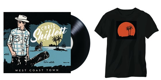 Image of Chris Shiflett - West Coast Town LP + T-Shirt