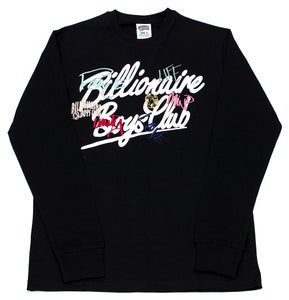 Image of Untitled LS Knit Black