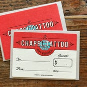 Image of Tattoo Gift Voucher