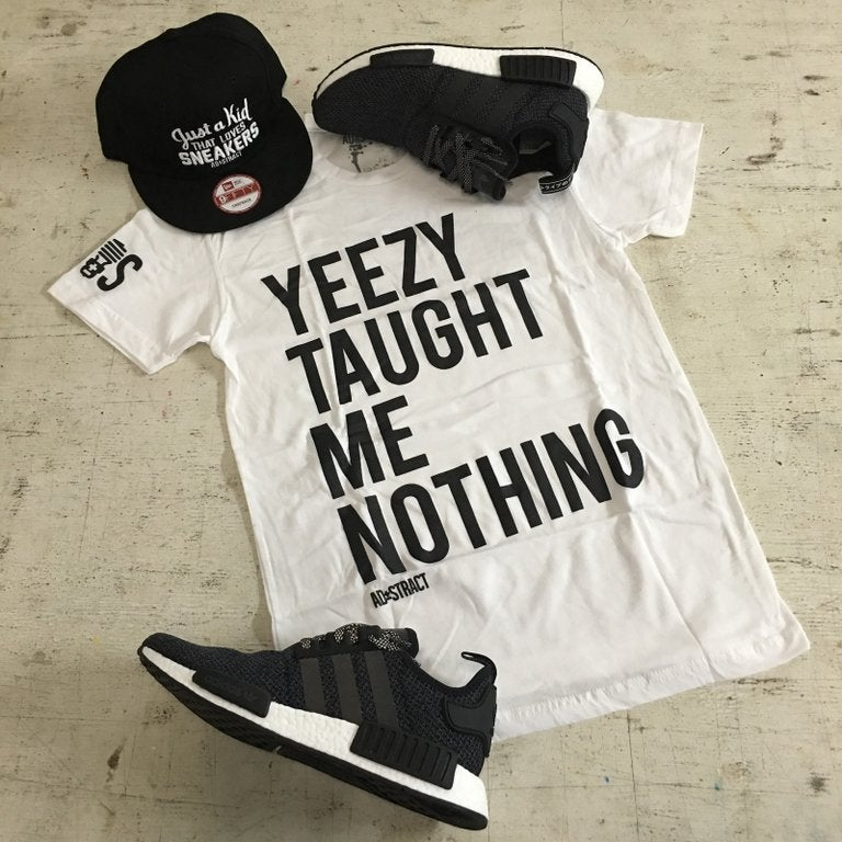 Image of YEEZY TAUGHT ME NOTHING TSHIRT