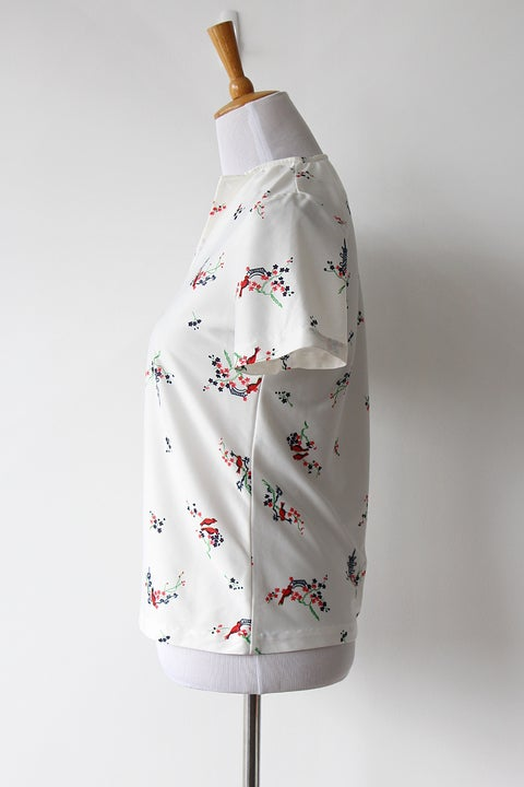 Image of SOLD Japan Holiday Top