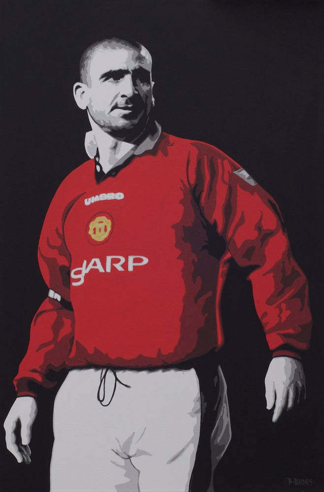 Image of 'CANTONA' (3x2 canvas print)