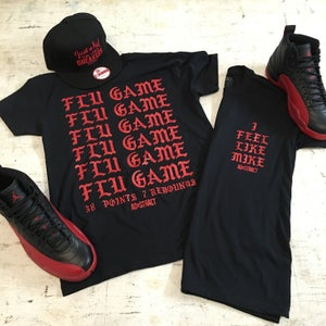 Image of I FEEL LIKE MIKE... (FLU GAME) TSHIRT