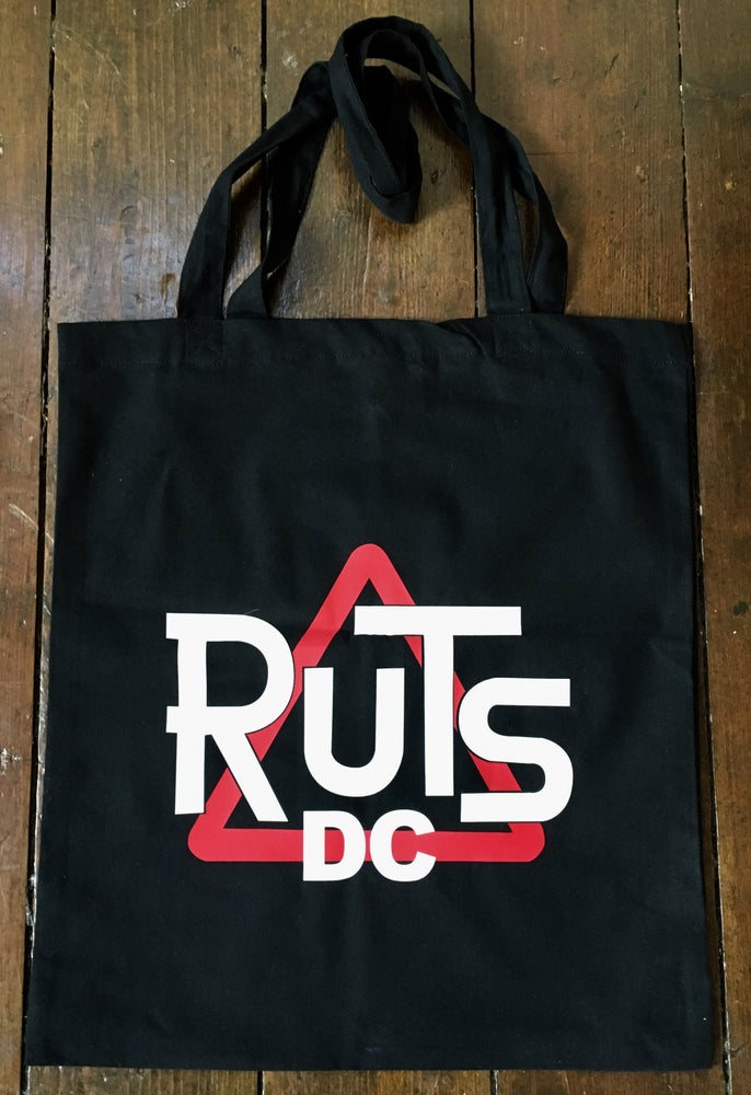 Image of RUTS DC 'Tote Bag' in Black or White