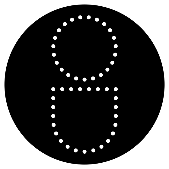 Image of Open Up Dot Sticker