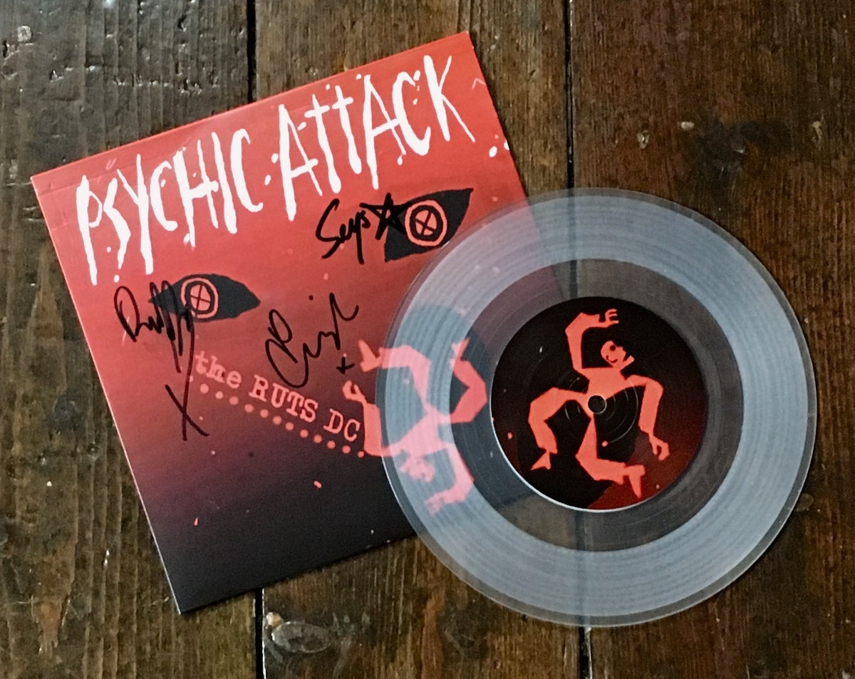 "Image of RUTS DC 'Psychic Attack' 7"" Vinyl"