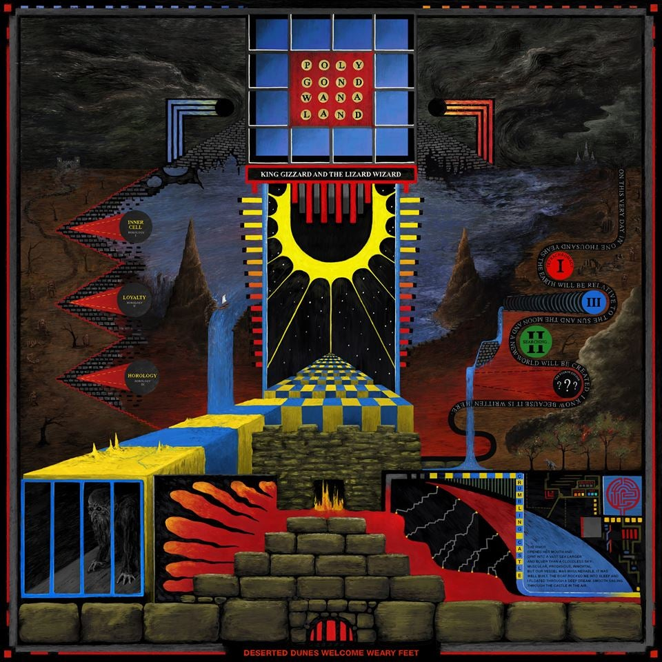 Image of King Gizzard & The Lizard Wizard POLYGONDWANALAND shipping FEB 8TH 2018