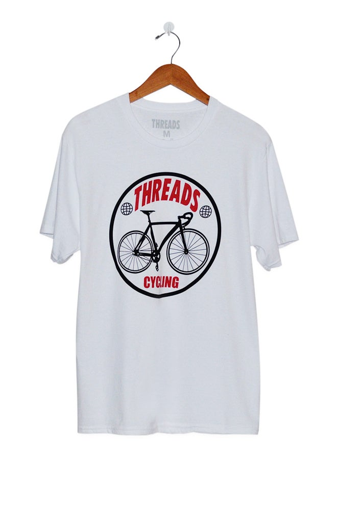 Image of THREADS Cycling White