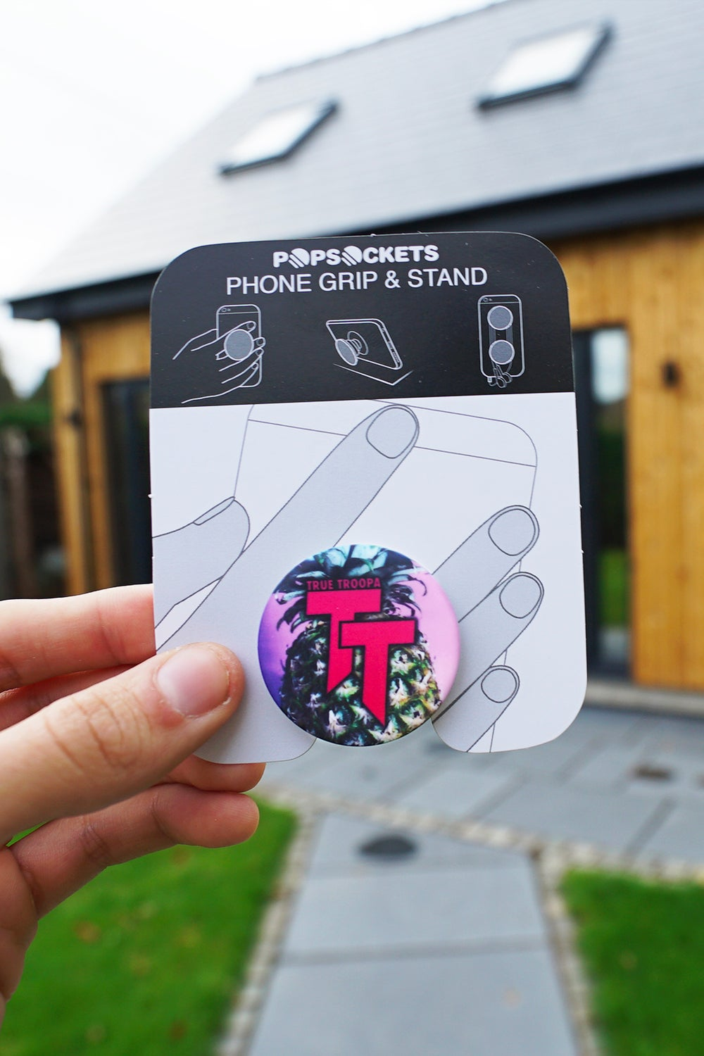Image of 'True Troopa' Pineapple Popsocket! (LIMITED EDITION)