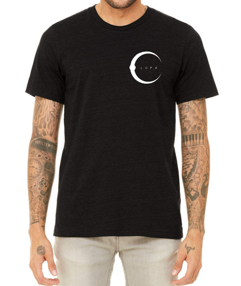 Image of Crest Lupa Black T-Shirt HALF PRICE