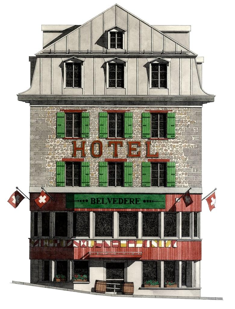 Image of Hotel Gletscher Belvedere, Switzerland.