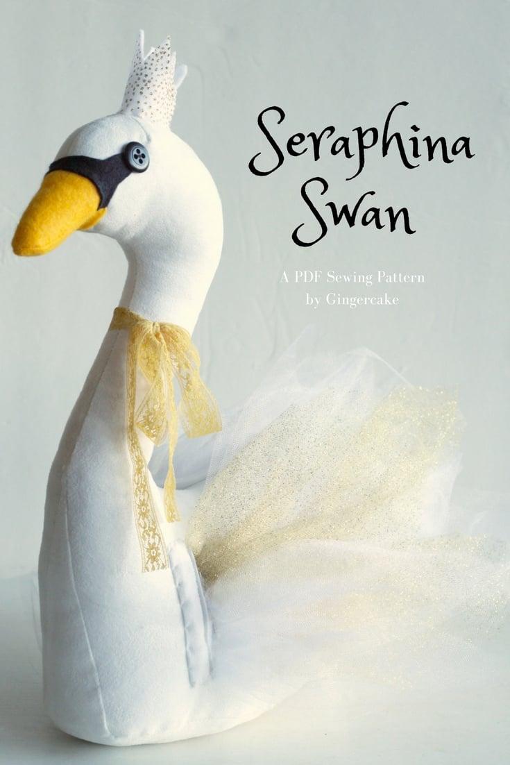 Image of  Seraphina Swan PDF Sewing Pattern