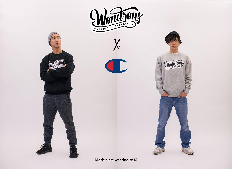 Image of Wondrous x Champion Crew Neck