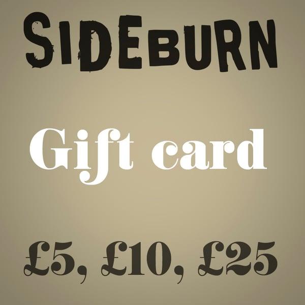 Image of Sideburn Gift Card
