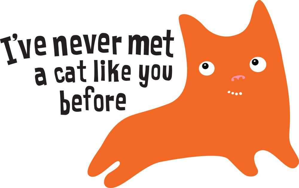 Image of Never Met A Cat Like You - Tee Shirt