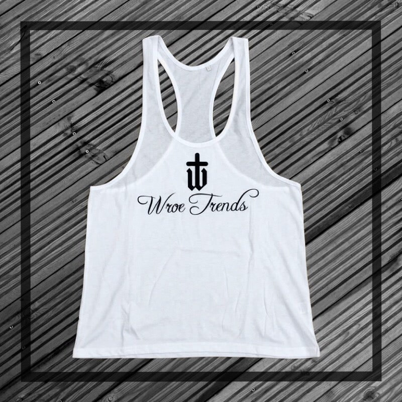 Image of MENS MUSCLE VEST • WHITE