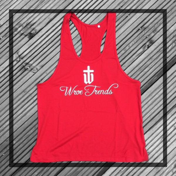 Image of ORIGINAL MUSCLE VEST • RED