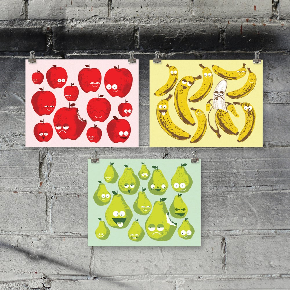 Image of Bad Fruit art print set