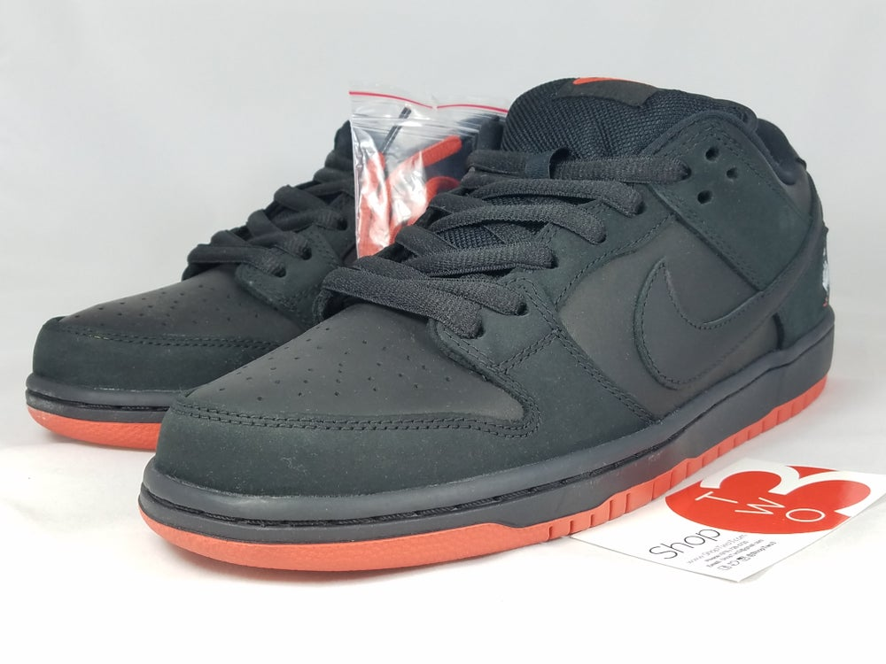 "Image of Nike SB Dunk Low TRD QS ""Black Pigeons"""