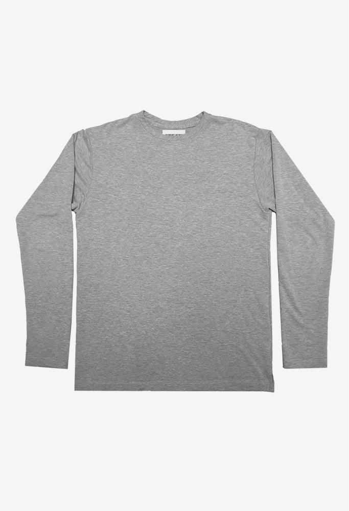 Image of Terry Long Sleeve- Heather Grey