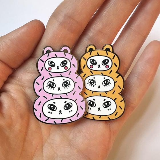 Image of Three Bears Hard Enamel Pin