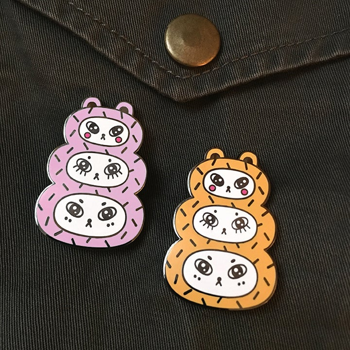Image of Three Bears Hard Enamel Pin
