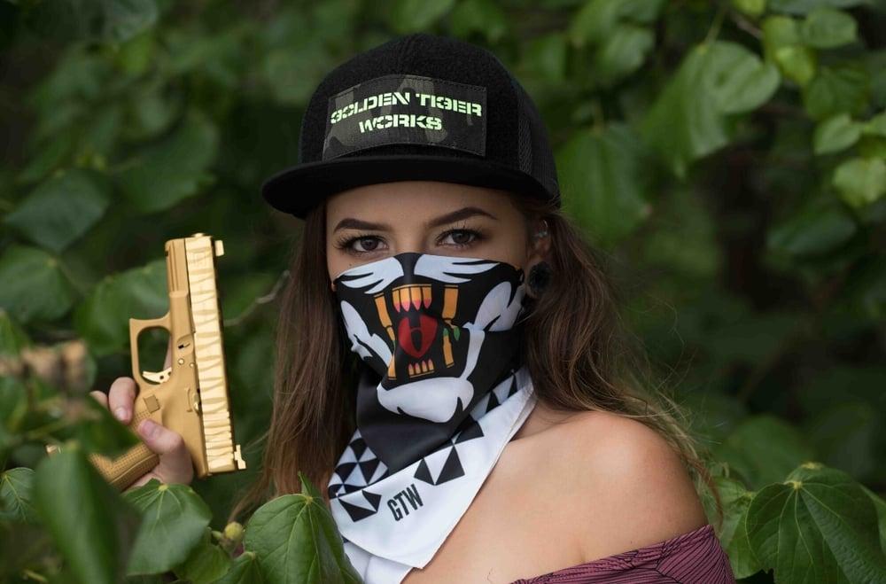 Image of Golden Tiger Works Tactical Tiger Scarf