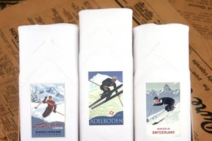 Image of Mens Handkerchief Set - Ski