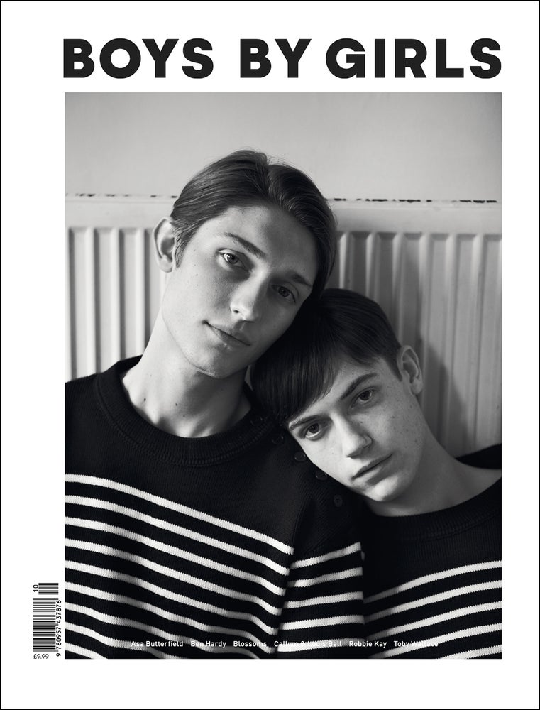Image of BOYS BY GIRLS ISSUE 10 | MUSE | PRINT ISSUE | FASHION BUTTERFIELD COVER