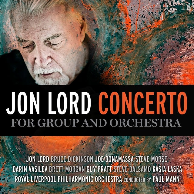 Image of JON LORD - Concerto For Group And Orchestra - Edition CD Jewelcase