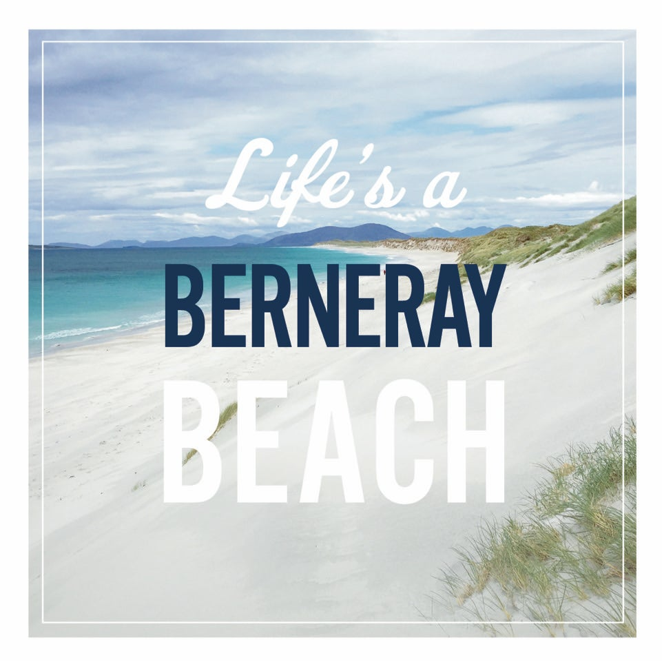 Image of Berneray window sticker