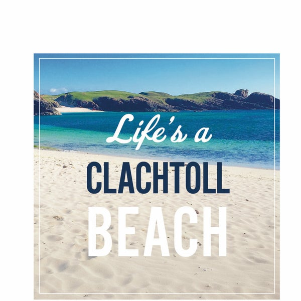 Image of Clachtoll window sticker
