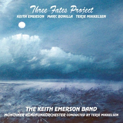 Image of KEITH EMERSON, MARC BONILLA AND TERJE MIKKELSEN - Three Fates - Edition CD Jewelcase