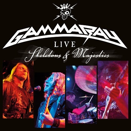 Image of GAMMA RAY - Live - Skeletons And Majesties - Edition 2CD Jewelcase
