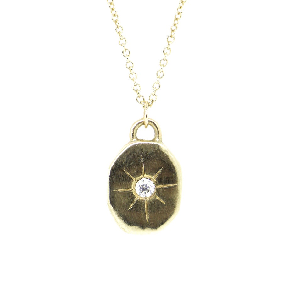 Image of Celeste Necklace in Gold